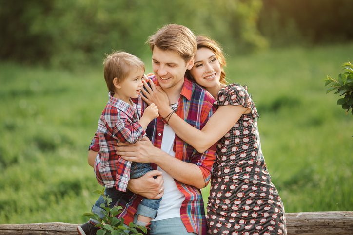 happy family in the woods jerome and summey insurance